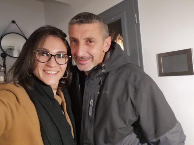 Céline et David lors de leur première rencontre samedi dernier, 4 jours après le déconfinement