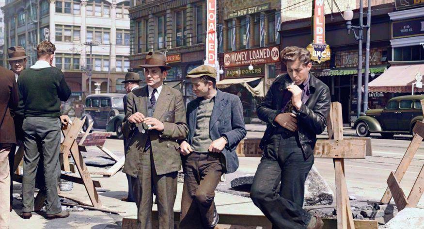 L'Histoire en couleur: coloriser les vieilles photos